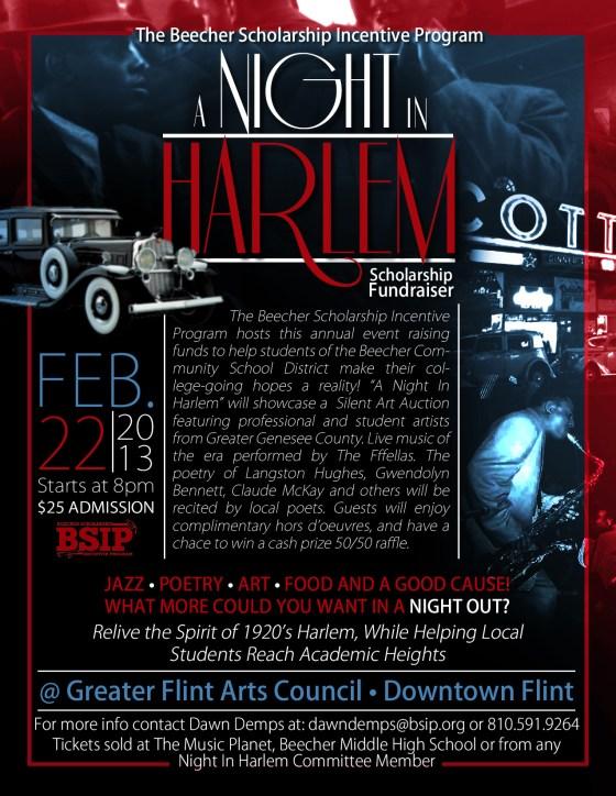 Night In Harlem Flyer(1)