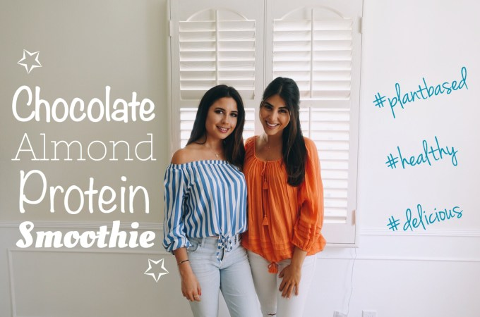 Chocolate Almond Protein Smoothie