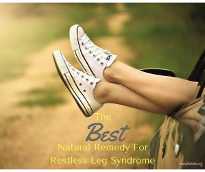 The BEST Natural Remedy for Restless Leg Syndrome!