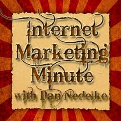 The Internet Marketing Minute