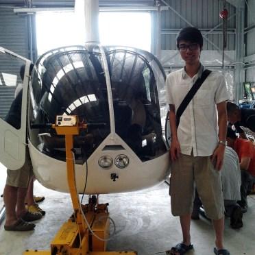 瓦努阿圖維拉港 直升機