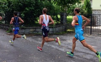 Running in the european duathlon champs