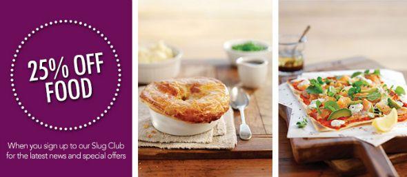 Slug and Lettuce Chelmsford food discount