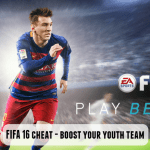 FIFA 16 cheat – Boost youth players in FIFA Career