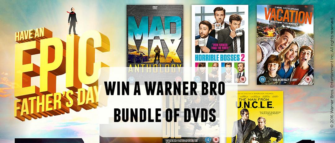 Giveaway: Win a Warner Bro. bundle of DVDs