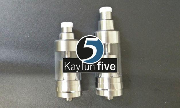 Kayfun 5 vs clone «mini», le test !