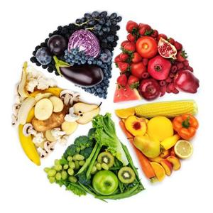 Здравословното хранене и принцип на дъгата