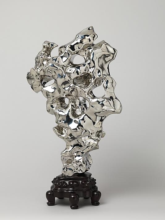 Zhan Wang, Artificial Rock #10. Ink Art, Metropolitan Museum of Art.