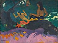 Gauguin-FatataTeMiti-Metamorphoses