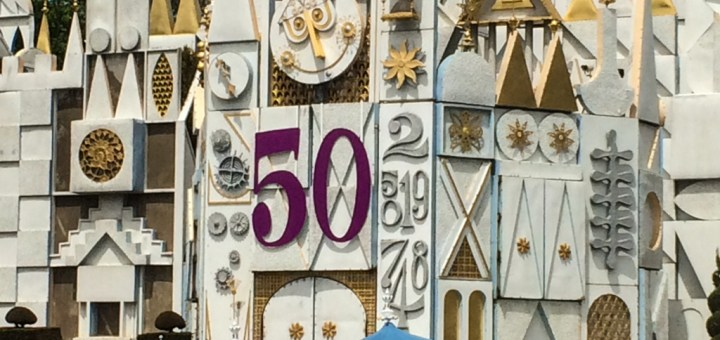 it's a small world - 50th anniversary - Disneyland