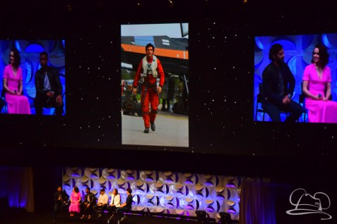 Star Wars The Force Awakens Panel Star Wars Celebration Anaheim-44
