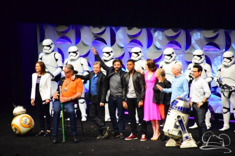 Star Wars The Force Awakens Panel Star Wars Celebration Anaheim-93