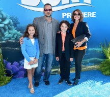 HOLLYWOOD, CA - JUNE 08: Actor Hayden Rolence (3rd L) and family attend The World Premiere of Disney-Pixar's FINDING DORY on Wednesday, June 8, 2016 in Hollywood, California. (Photo by Alberto E. Rodriguez/Getty Images for Disney) *** Local Caption *** Hayden Rolence