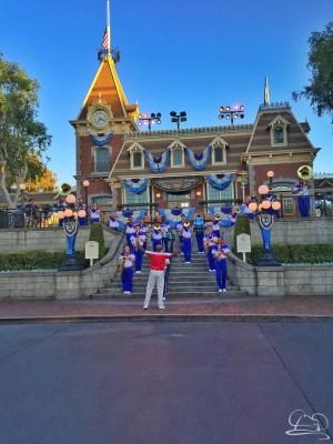 Disneyland Resort All-American College Band - Train Station