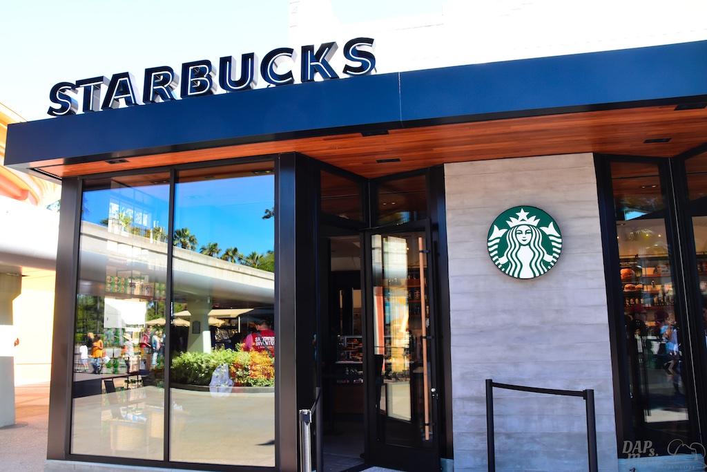 New Starbucks Opens At Downtown Disney