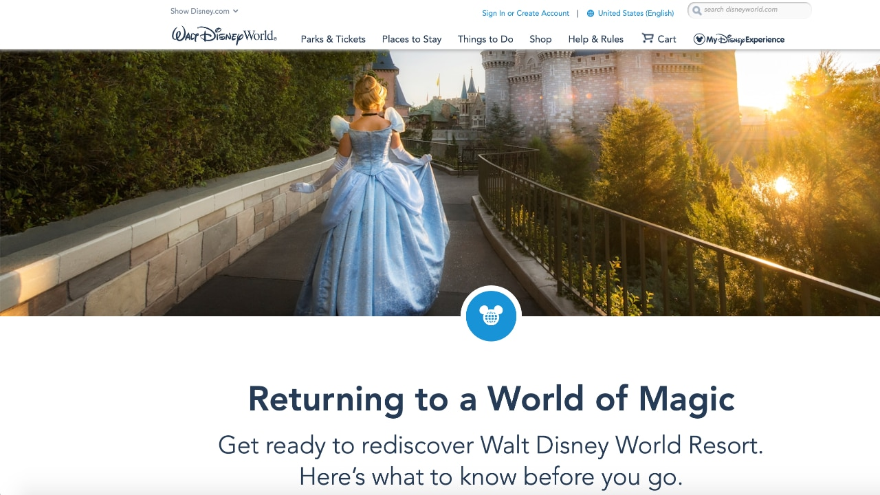 Returning to Walt Disney World – Know Before You Go