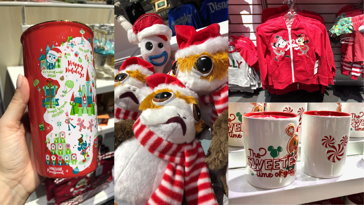 Holiday Merchandise Arrives at Stage 17 at the Disneyland Resort