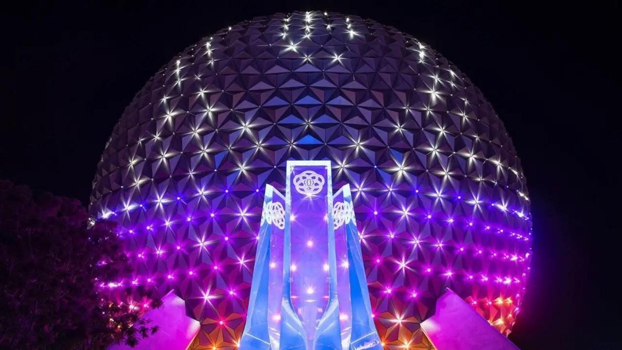 Spaceship Earth's Beacon of Magic Look Previewed Ahead of Walt Disney World's 50th Anniversary