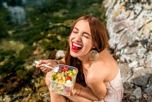 食べて幸せ