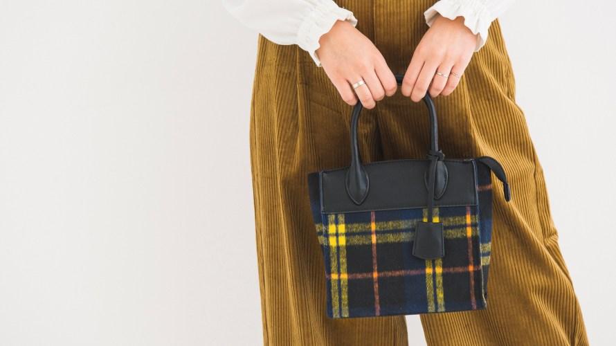 GU(ジーユー)のチェックバッグがお値段以上と話題♡