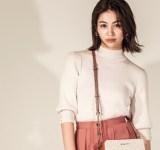 大人かわいい♡ピンクのロングスカートで魅せる秋コーデ5選