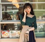 【今日のコーデ】デート服もプチプラ♡ワンショルニットで大人の色気を!