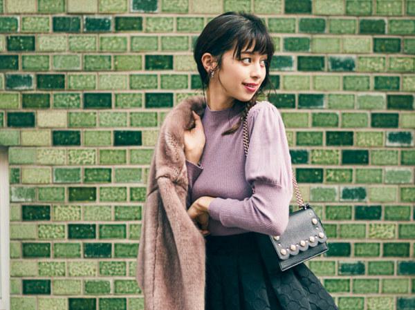 最愛ピンクでフェミニンに♡おすすめ冬コーデ18選