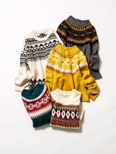 プチプラかわいい!アメリカンイーグルのノルディック柄セーター
