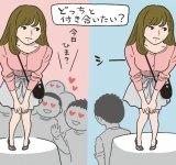 「モテる女」と「モテない女」、どっちと付き合いたい? #恋の答案用紙