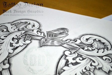 coat of arms tattoo template helm