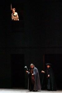 Barbara Frittoli as Ervira,Erwin Schrott as Don Giovannni and Alexander as Leporello