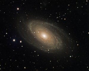 M81 Bode's Galaxy in LRGB