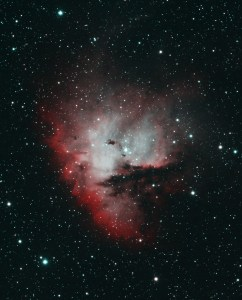 NGC 281 Pacman Nebula in Cassiopeia