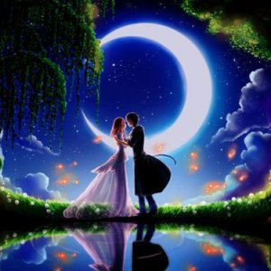 Crescent Moon Lovers