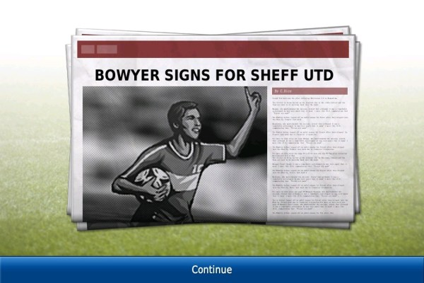 Football Manager Handheld screen 1