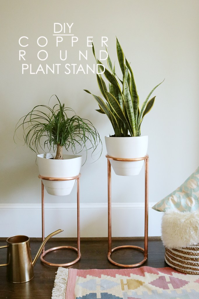 DIY Copper Round Plant Stand – Darleen Meier Jewelry