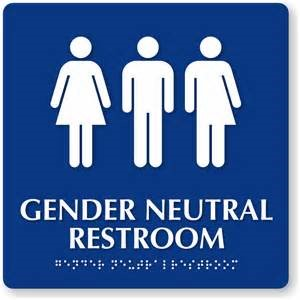 Gender neutral bathroom sign 2