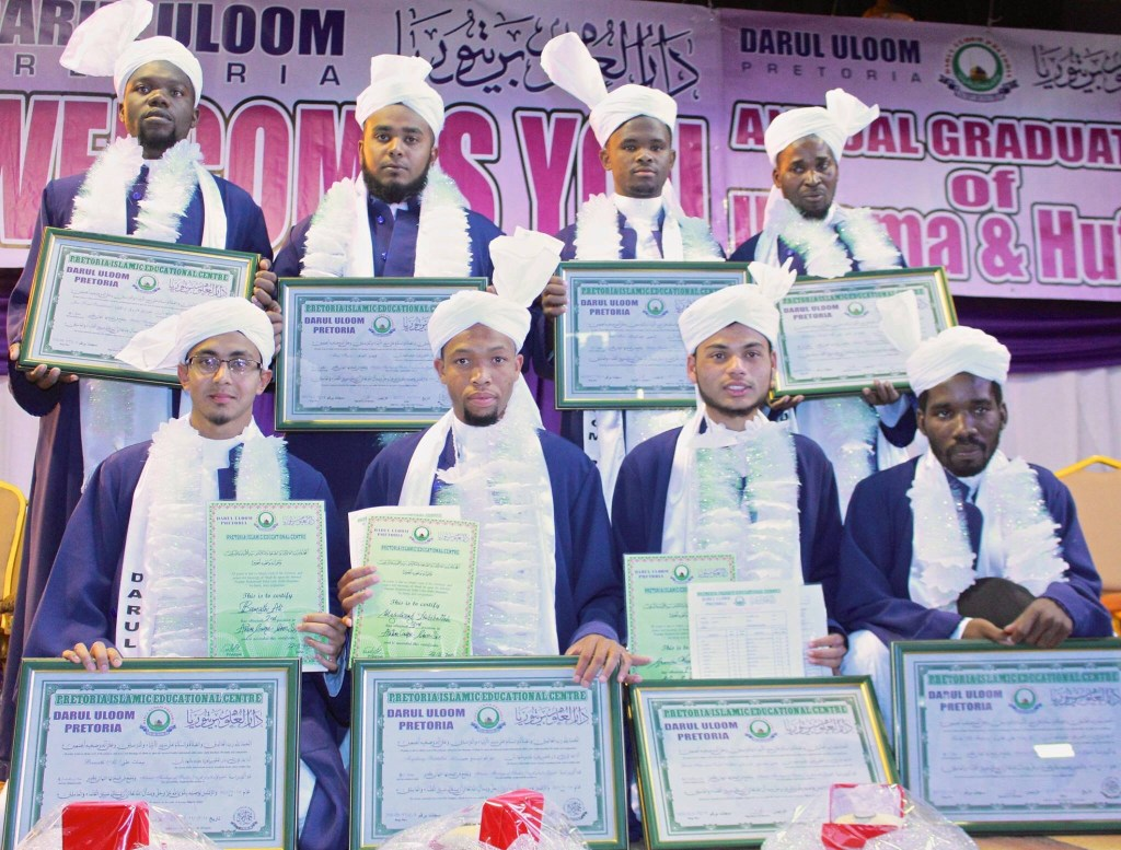 Graduating Ulama of 2015 from Darul Uloom Pretoria