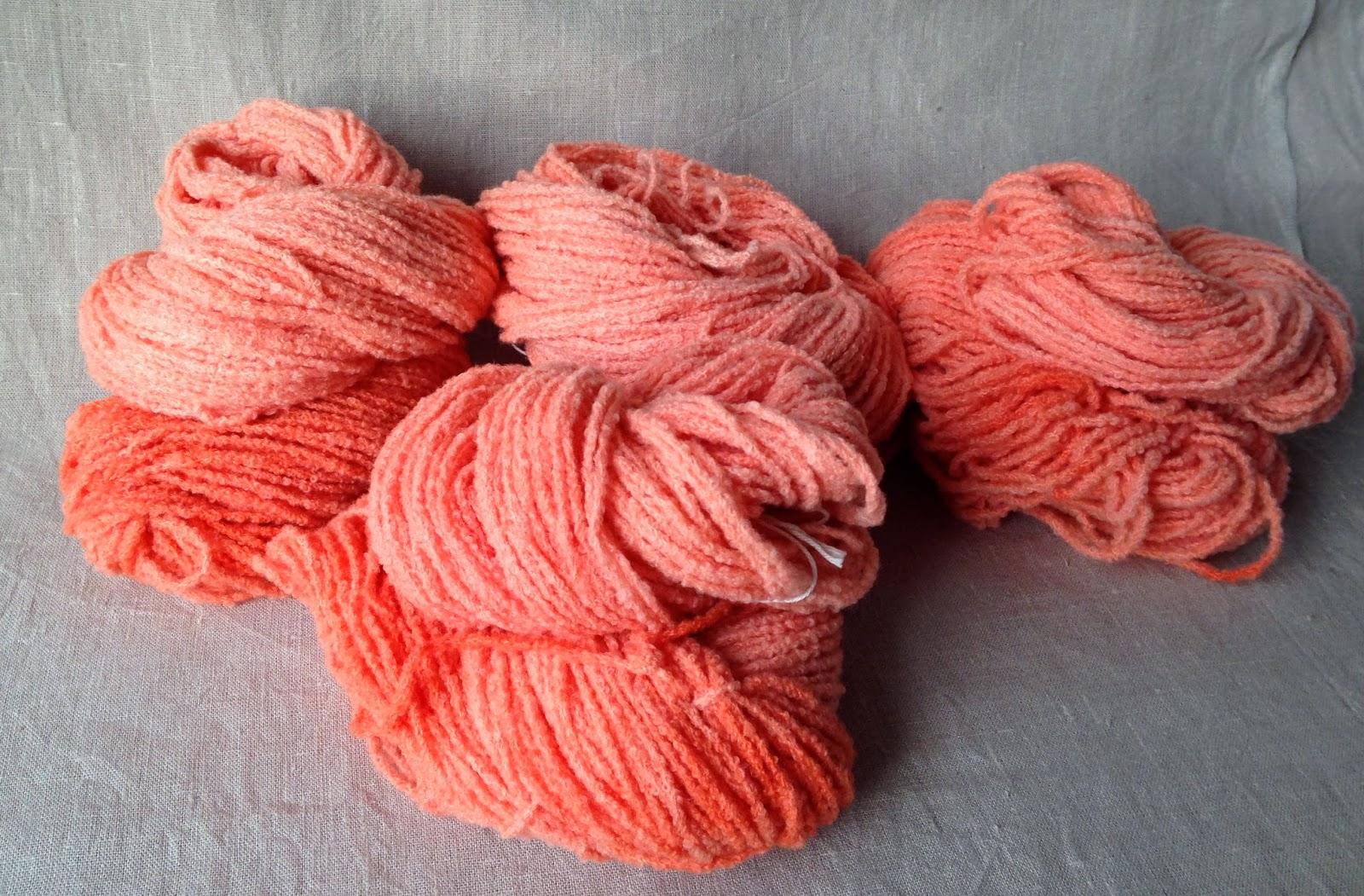 Bouclé-Flamingo