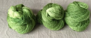 Merino-Silk-Lace, handgefärbt
