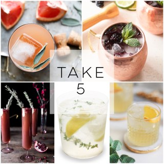 Take 5 : Holiday Cocktails