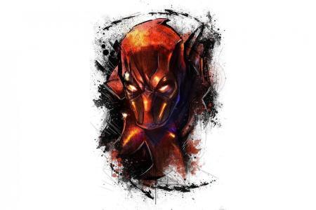deadpool marvel art face