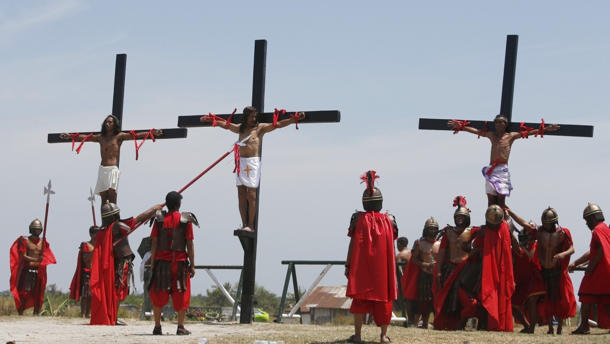 women crucified by romans