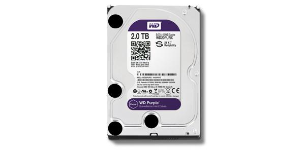 WD Purple - 2 TB