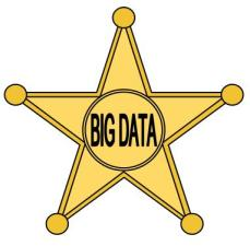 big data sheriff's star