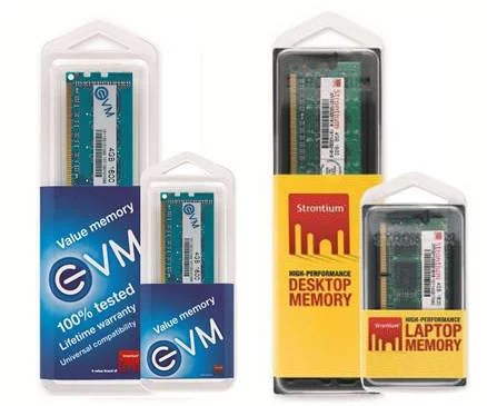 Strontium DDR-3 1600MHz and DDR-3 1333MHz Speed Memory Modules