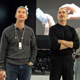 Apple new CEO Tim Cook and Chairman Steve Jobs