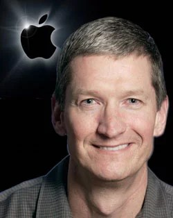 Tim Cook New Apple CEO