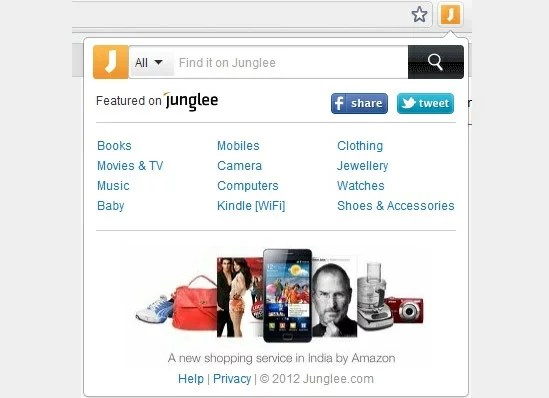 Find it on Junglee Chrome Extension - Easy way to Compare Products