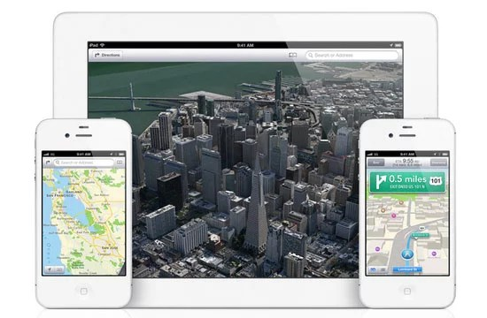 Apple iOS6 brand new Maps App